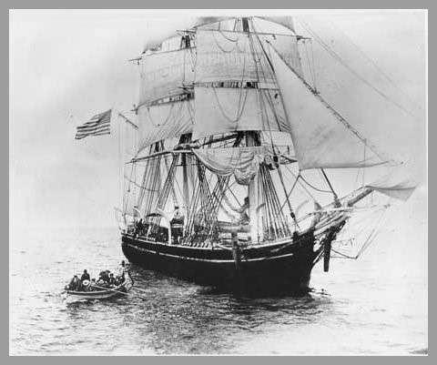 1864年Desdemona號運送被「上海」的船員。(圖/澎湃新聞提供)