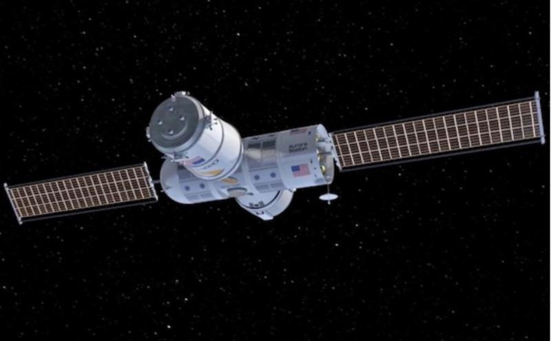在你的專屬空間站遨游太空,聽上去是不是很誘人?(圖/澎湃新聞提供)