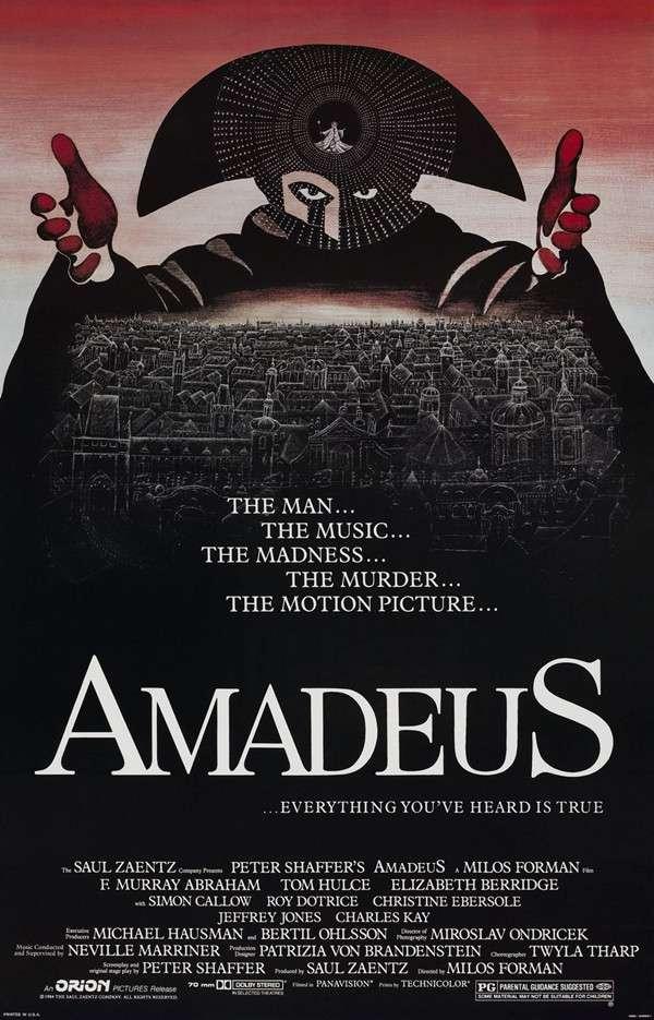 《阿瑪迪斯》海報。(圖/澎湃新聞提供)
