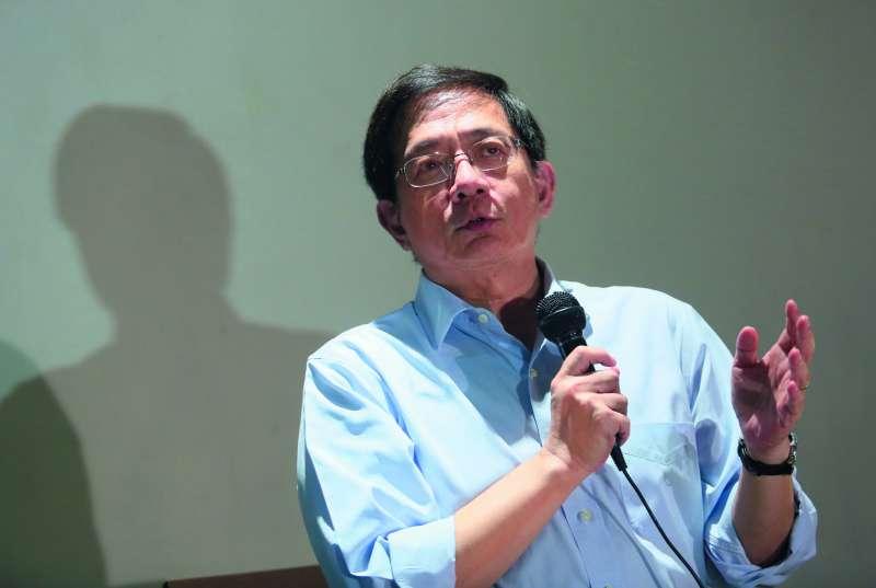 接不到台大校長的管中閔會不會轉戰台北市長,成政壇熱議話題。(柯承惠攝)