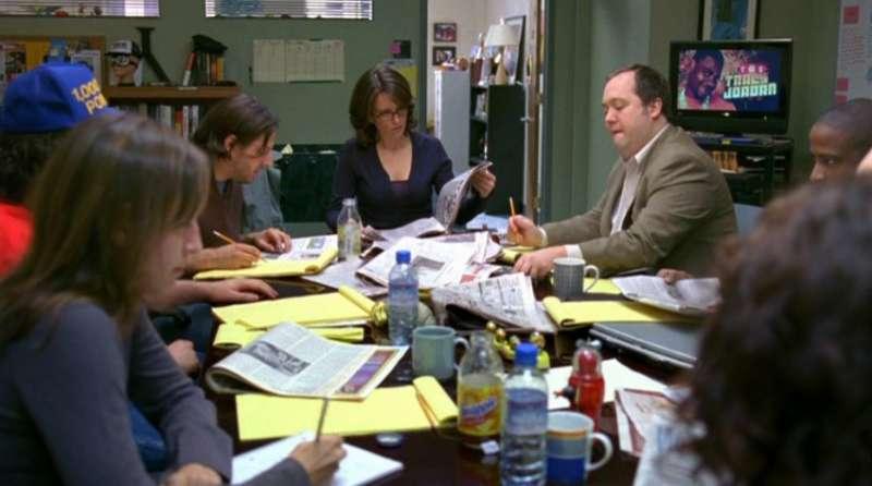 一桌編劇寫一節目是常態。(圖/取自ETB Screenwriting,愛范兒提供)