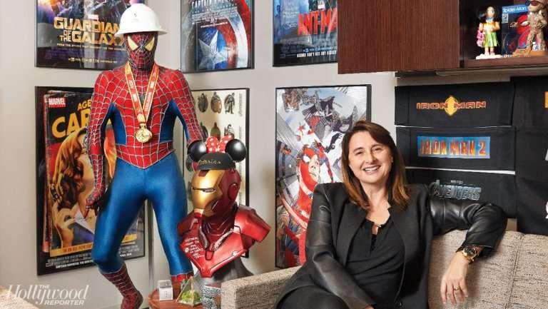 Victoria Alonso(圖/取自《Hollywood Reporter》,愛范兒提供)