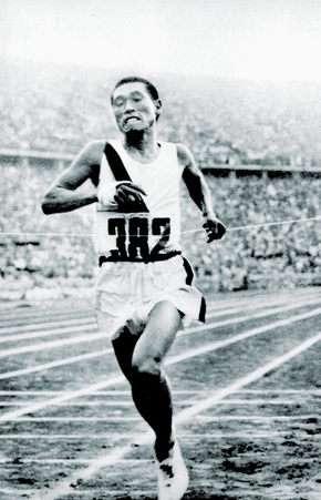 1936年柏林夏季奧運會男子馬拉松冠軍孫基禎。(wikipedia/public domain)