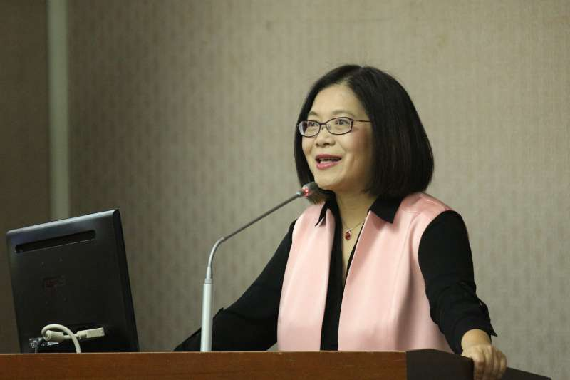 20180514-立法院內政委員會審查法案,立法委員管碧玲發言。(陳韡誌攝)