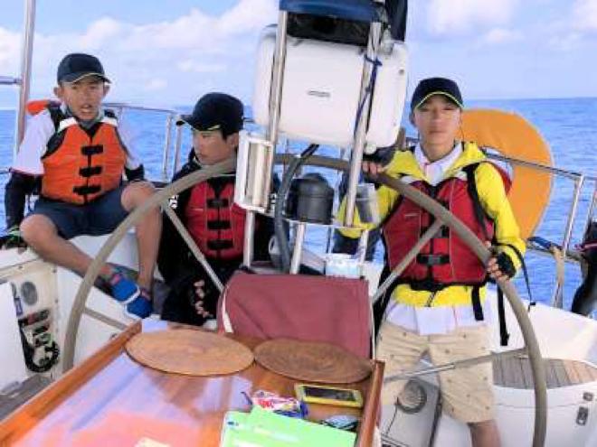 岳明國小「航向藍海-守護海洋」航行活動(圖/作者提供 想想論壇提供)