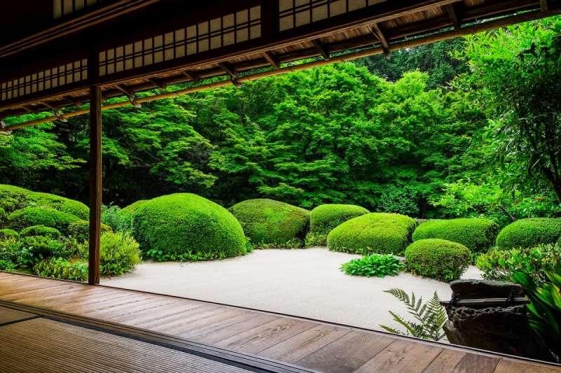 連黛安娜王妃也曾造訪的「詩仙堂」。(圖/ZEKKEI Japan)