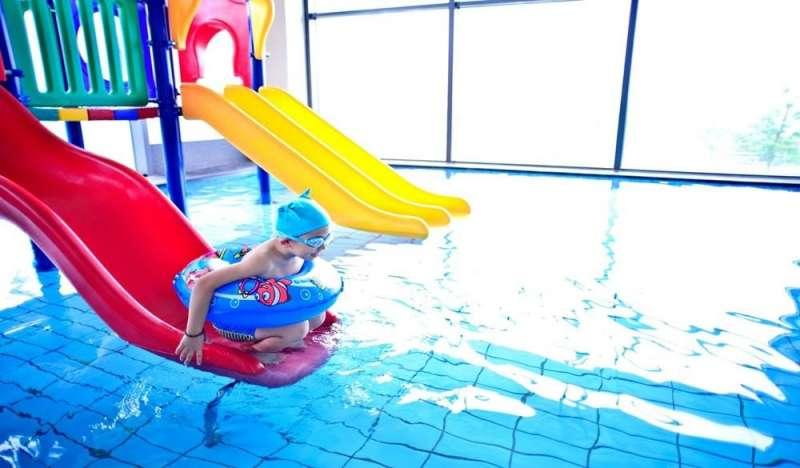 兒童戲水池。(圖/HotelsCombined提供)