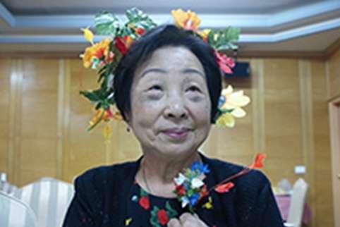 蓮花阿嬤(圖/阿嬤家-和平與女性人權館)