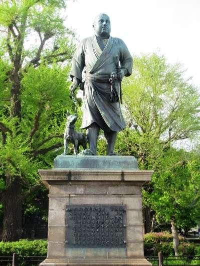西鄉隆盛銅像。(圖/想想論壇提供)