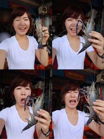 蝦公主段宛菁因搞笑風格,在網路世界擁有大批粉絲。(圖/段泰國蝦)