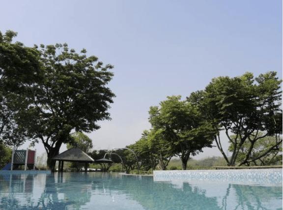 田寮冷泉又名崗山頭溫泉,是南台灣僅有珍貴碳酸冷泉,泉質透明清澈、醞含豐富礦泉物質、平均水溫為22℃。(圖/高雄旅遊網提供)