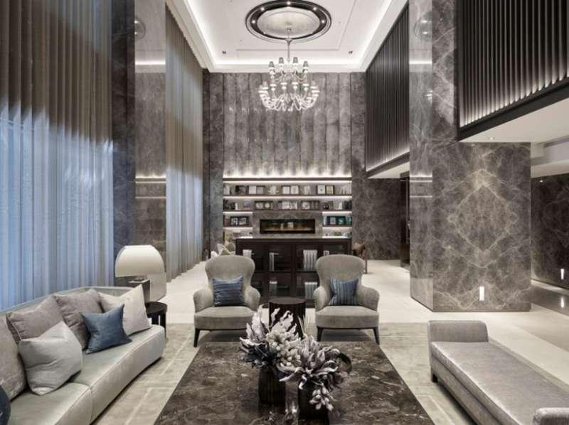明日博-匯集了全球頂尖建築家、當代藝術家的手筆,明日博為近年來台北市精華都會區內少見的大面積名邸。(圖/築內國際)