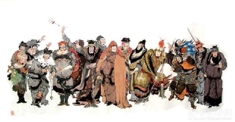 水滸傳反應中國古代的政治。