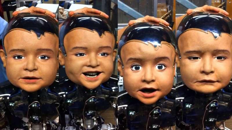 索非亞栩栩如生的外表,靠的是大衛·漢森(David Hanson)先前在華特迪士尼製作多年人物道具所磨練下來的苦工,後來他創立了主要販售娛樂性機器的公司 Hanson Robotics。(圖/Hanson Robotics)