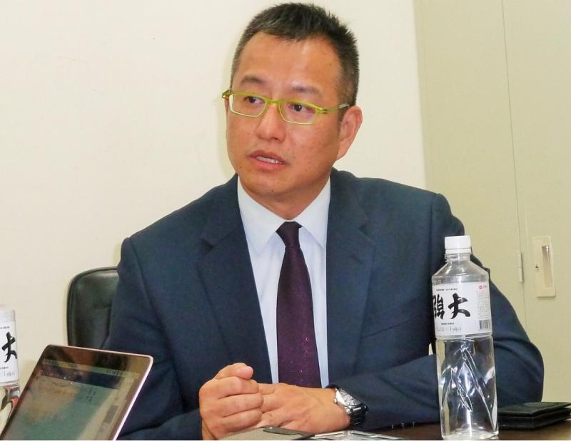 亞尼克董事長吳宗恩表示,內部評估如果每台YTM每天可以售出30條生乳卷,就可以做到損益兩平。(圖/何佩珊攝影,數位時代提供)