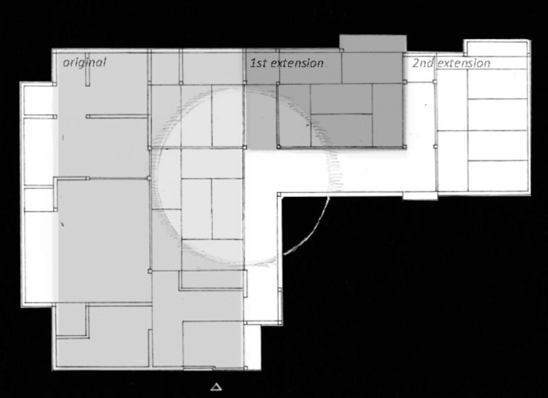 老房子構造。(圖/翻攝自持田敦子個人網站,智慧機器人網提供)