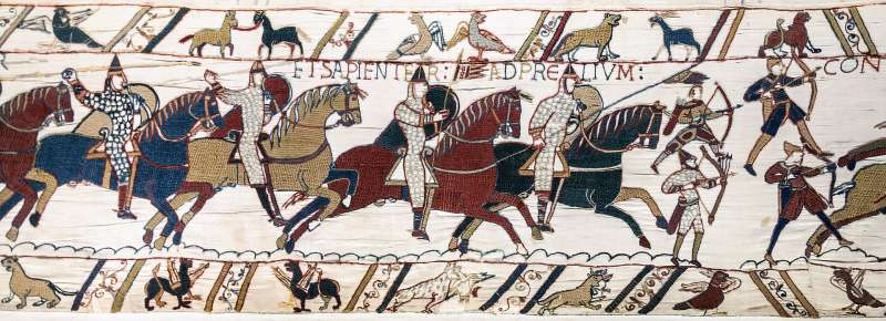 巴約掛毯(Wikipedia/Public Domain)