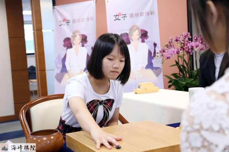 20180817-圍棋選手白昕卉奪得第4屆女子圍棋最強戰亞軍。(英格國際行銷(股)公司提供)