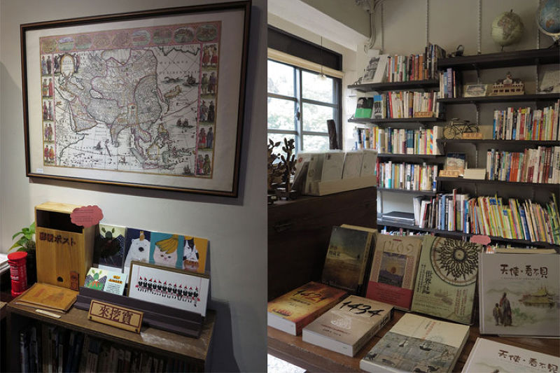 Zeelandia Travel & Books收錄大量旅遊書籍