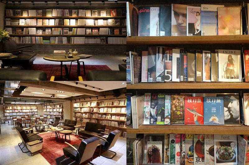 Boven雜誌圖書館收藏2000本以上的雜誌,涵蓋時裝、生活、設計等主題