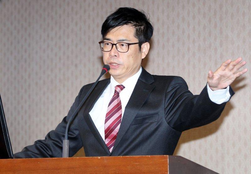 20170306-民進黨立委陳其邁上午在立院內政委員會質詢。(蘇仲泓攝)
