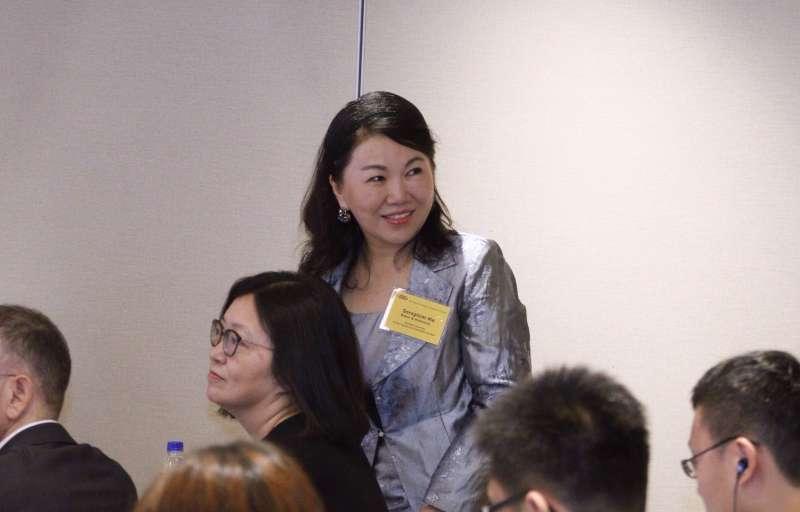 20170608台北市美國商會2017台灣白皮書記者會,馬靜如律師