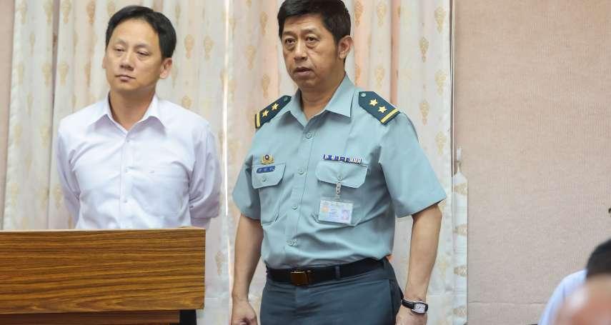 國軍重大人事異動》陸軍八軍團指揮官陳曉明 接任國防部政務辦公室主任