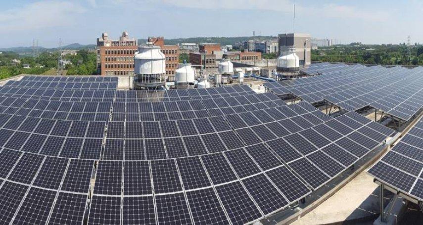 自己的電自己發 宏碁擴建太陽能發電站