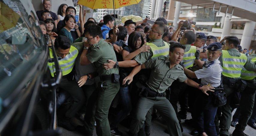 「雙學三子」入獄重挫香港民主運動 一國兩制還能維持多久?