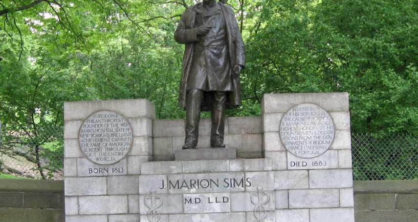 「現代婦科學之父」希姆斯拿黑人女奴做人體實驗 憤怒紐約人喊拆中央公園銅像