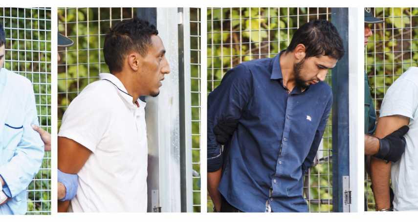 巴塞隆納恐攻4嫌出庭 承認原計畫攻擊聖家堂