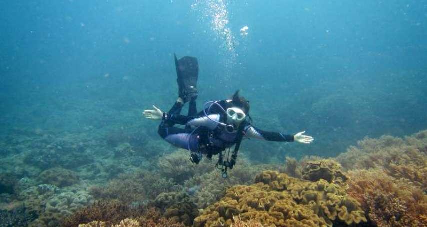 在水裡拍出美照可是大有學問!潛水教練公開獨門3技巧,初次下水也變專業攝影師