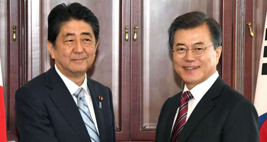 兩韓宣布終戰有變數?文在寅告訴安倍晉三:終止韓戰需兩韓、美國三方達成協定