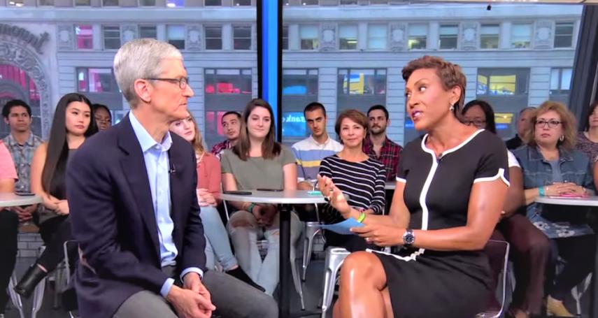 果粉嫌iPhoneX太貴!庫克發表會後首次受訪語出驚人:蘋果本來就不是要打造最暢銷的產品
