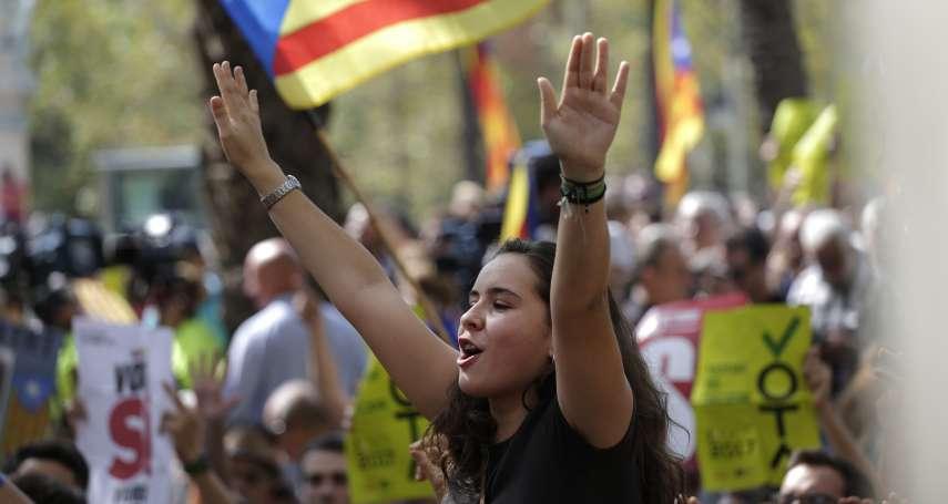 西班牙統獨衝突》中央政府逮捕加泰隆尼亞官員 民眾上街憤怒吶喊:獨立!我們一定會投票!