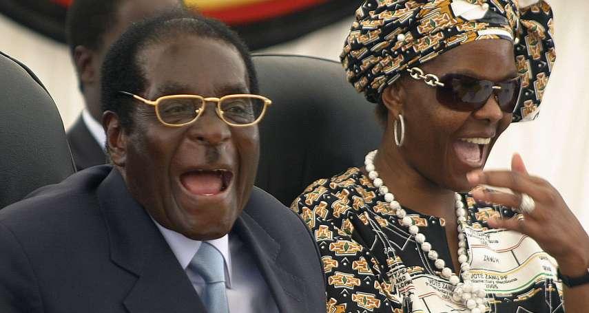 辛巴威第一家庭豪奢無極限 夫人血拼單日豪砸225萬、兒子手錶要價180萬