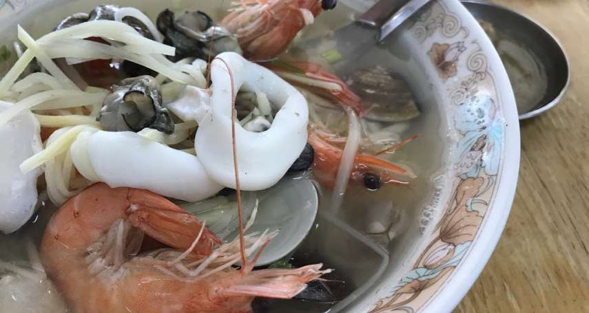 台南在地人的口袋私房名單!8間尚青的海鮮粥,料滿澎湃到老饕無處可挑
