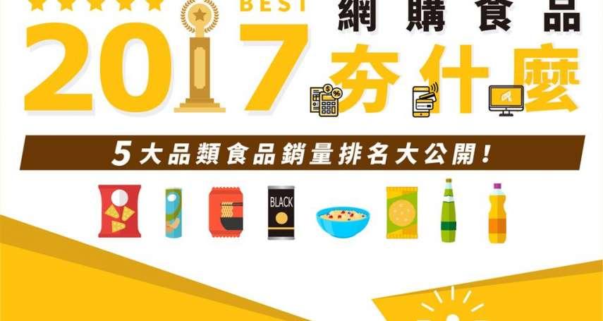 今年最夯網購食品排行榜出爐!原來大家最愛買的是「這個」