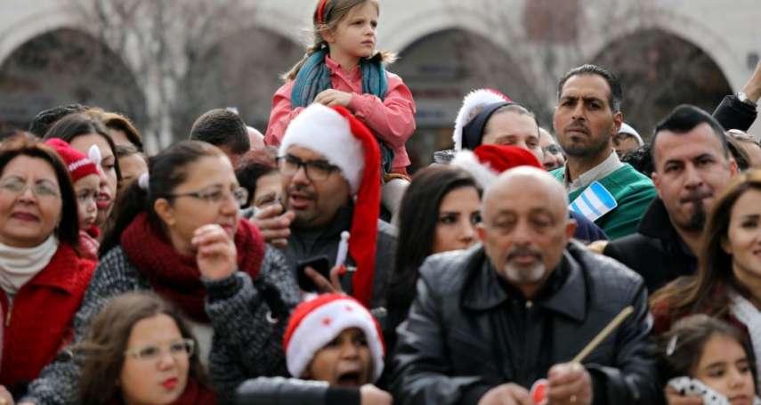 「川普帶走了耶誕節的歡樂」明明是耶誕佳節,耶穌降生地伯利恆卻好冷清