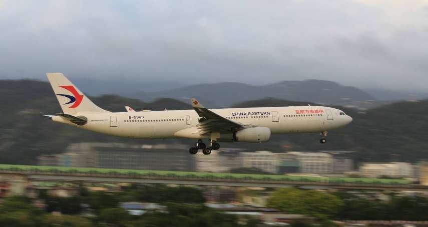 中方若不回應M503爭議 陸委會將駁回春節加班機申請