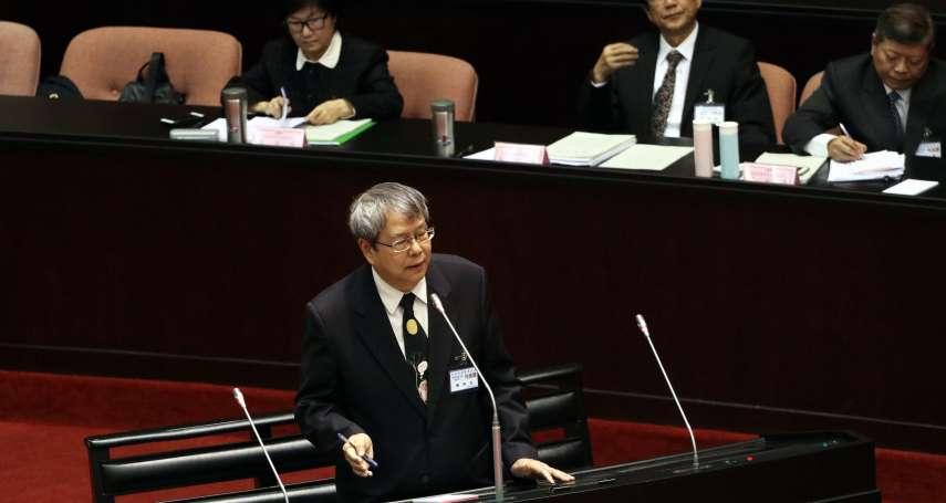 「讓陽光照進來!」準監委陳師孟呼籲彈劾改採記名投票