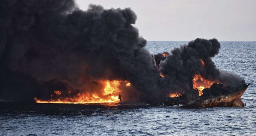 史上最嚴重凝析油洩漏!桑吉號沉沒為何是東海的生態災難?