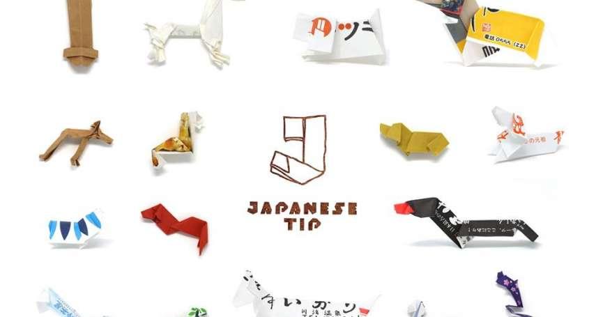 筷套居然能摺出炸蝦、小狗、天鵝?他蒐集破萬件客人巧手之作,日本人的創意實在驚人!