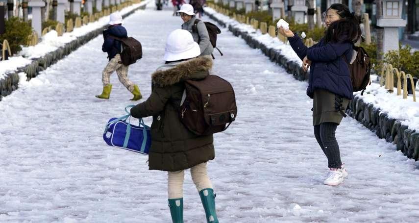 西洋參考》日本妹子真的不怕冷,誰能拚得過!
