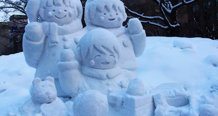下大雪、好無聊?東京居民堆出神人作品:龍貓、史努比、小小兵萌翻網友