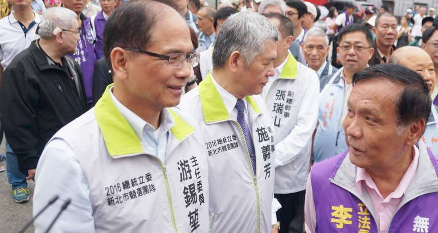 陳金德呼籲游再出馬選宜蘭縣長 游錫堃:支持民進黨提名人陳歐珀