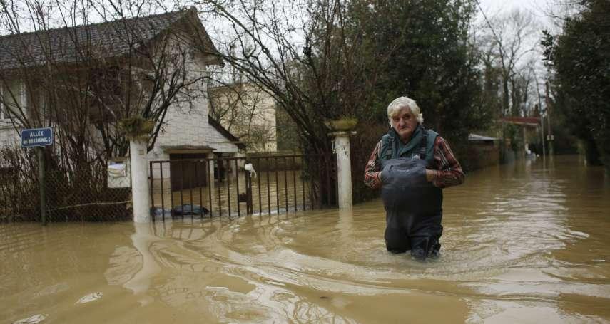 花都巴黎成淹水鼠都!上千人因塞納河暴漲疏散 1500戶停電、水陸交通大受影響