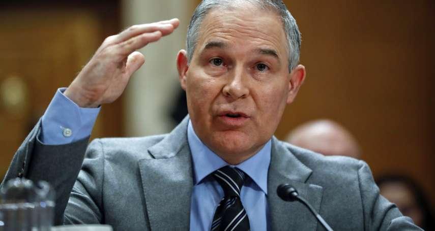 87分,不能再高了》美國環保署長:氣候變遷可能是好事一樁!