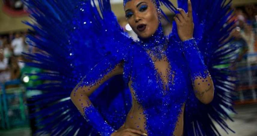 辣妹、森巴舞還有一點政治味 里約熱內盧嘉年華狂歡登場