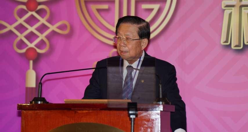 田弘茂為台商上「國際政治課」:兩韓依舊存在戰爭風險,美中關係有惡化跡象